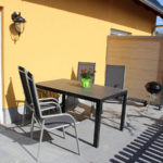 Terrasse - Hafenquartier Karlshagen - Ferienwohnungen auf der Insel Usedom